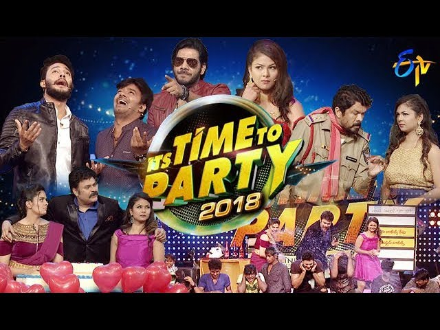 ITS TIME TO PARTY – 31st December 2017 – Full Episode | ETV New Year Special Event