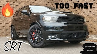 Dodge Durango SRT 392.  It Hauls.... Family can come to.