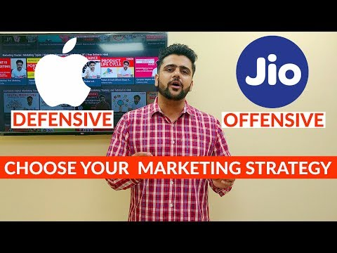 Offense or Defense? | Choose Your Marketing Strategy | Hindi