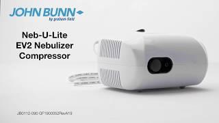 John Bunn Neb-u-Lite EV2 Nebulizer Compressor