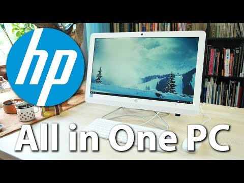 HP All-in-One-PC (24-e066ng) im Test - Platzsparender Desktop-Ersatz aus dem Einsteiger-Segment