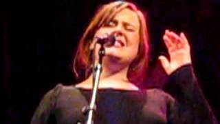 "ADELE singing Etta James' ""Fool That I Am"" at Somerville Theater, MA 1/14/2009"