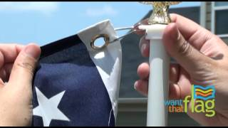How to Assemble your Flag and Pole Set