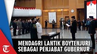 Mendagri Lantik Boytenjuri sebagai Penjabat Gubernur Lampung