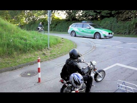 Mini Chopper Massaker (50ccm Sinski Mini-Harley Motorrad)
