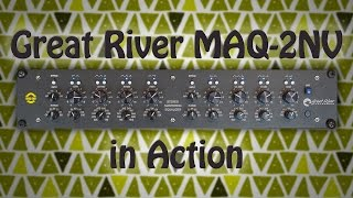 [DE] Great River MAQ 2NV Mastering Equalizer in action