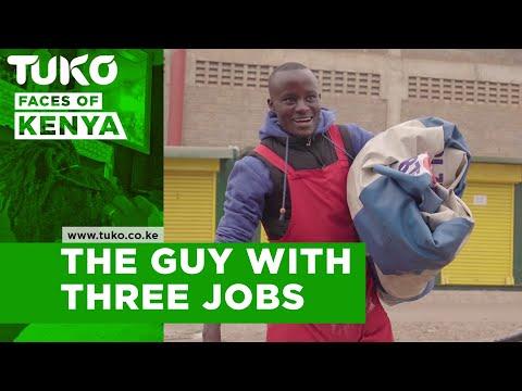 The form four leaver with three jobs | Tuko TV