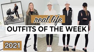 REALISTIC OUTFITS OF THE WEEK 2021: What I REALLY wore this week!