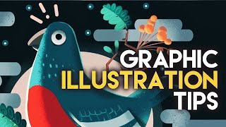 Graphic Illustration Tips  [my Procreate Workflow For Graphic Art]