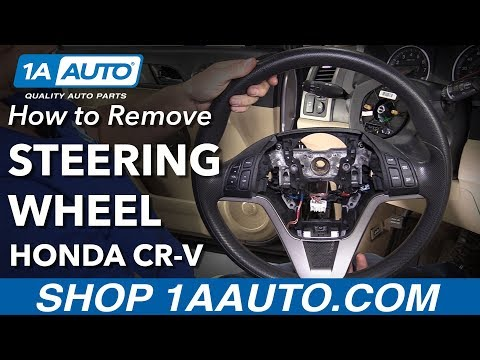 How to Replace Steering Wheel 07-11 Honda CR-V