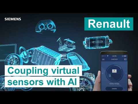 Renault Coupling virtual sensors with artificial intelligence