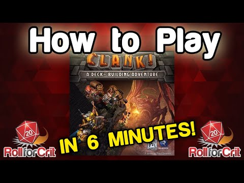 How to Play Clank! | Roll For Crit