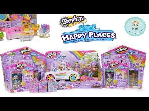 Abriendo Las Nuevas Shopkins Happy Places Rainbow Beach