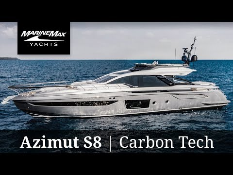 All-New Yacht | Azimut S8 | Carbon Tech