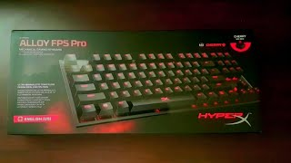 6da0ddc7b18 Unboxing/Overview HyperX Alloy FPS Pro Tenkeyless Mechanical Gaming Keyboard  Cherry MX Red