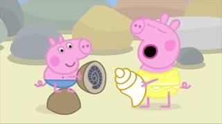 Peppa Pig En Español Episodios Completos La Costa ✈️Dibujos Animados