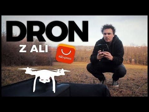 KOUPIL JSEM DRON Z ALIEXPRESSU - Vlog #27