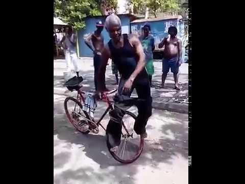 grandpa extreme bicycle skills