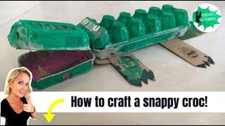 How to craft a crocodile