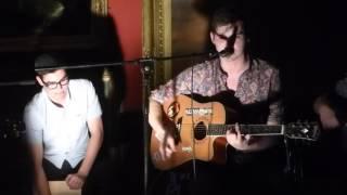 Jordan Allen (Acoustic) - White Lights - Live @ Blackburn Museum - 3-12-2015