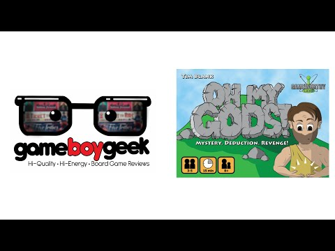 The Game Boy Geek Reviews Oh My gods