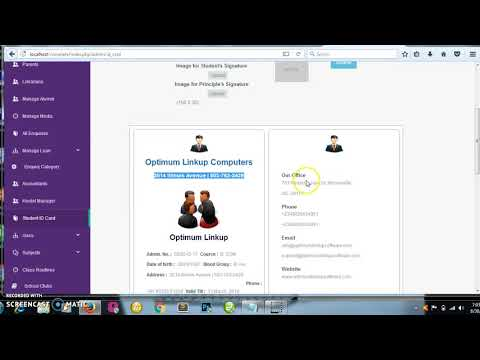PHP SUPER SCHOOL SYSTEM download   SourceForge net