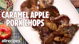 Warm, Spicy, & Sweet Caramel Apple Pork Chops | Allrecipes.com