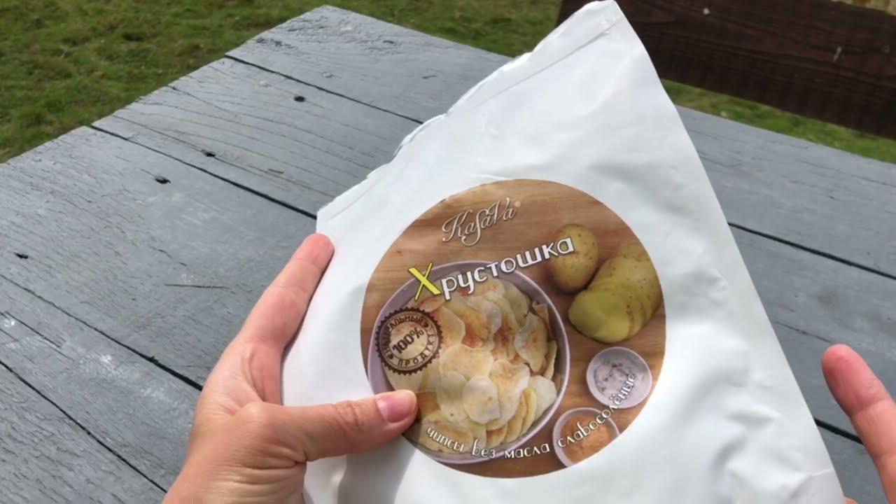 Картофель хрустящий «Хрустошка» Kasava 70г: видео 1 - FreshMart
