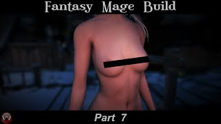 Fantasy Mage Build 2018 | Bijin Skin 8K | YunDao HDT Hair | SKYRIM SE | Pro Modded - Part 7