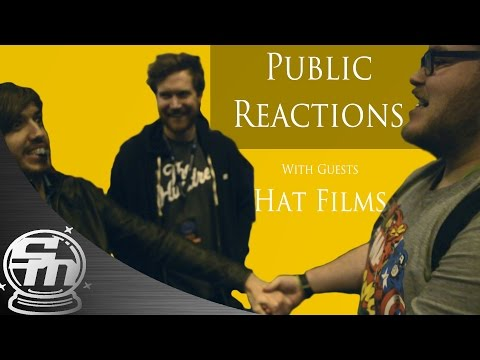 Public Reactions To Magic With Guests HAT FILMS!
