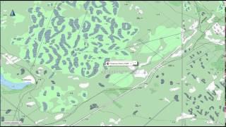 Карта рязанской области охотника и рыболова