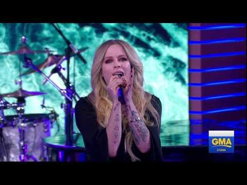Avril Lavigne - Head Above Water @ Good Morning America 15/02/2019