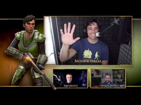 Star Wars The Old Republic Cantina Event and Voice Actor Interviews Outline What's New
