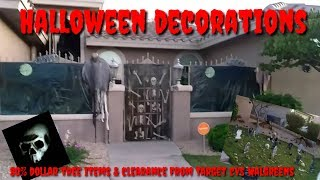 Halloween Outside Decorations 2017