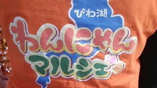 【ほぼライブ配信】びわ湖わんにゃんマルシェ開催中!!