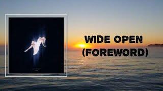 NIKI - Wide Open (Foreword) (Lyrics) - YouTube