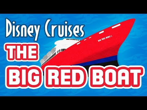 Disney Cruise History – The Big Red Boat and Premier Cruise Lines