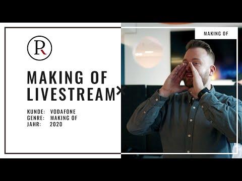 Was braucht guter Livestream? Making Of