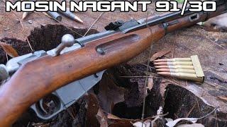 Mosin Nagant Carbine up to 300 yards! (4K)