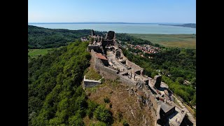 The Castle of SZIGLIGET - next to Balaton, in Hungary
