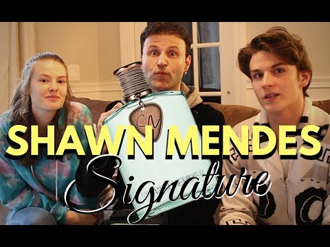 Shawn Mendes Signature Perfume REVIEW | with Special guests