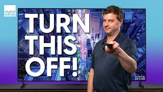 Two TV settings you should change right now