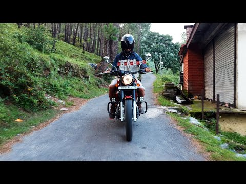 Naldehra to Cheog: Himachal vlog#5 | Riding Jawa 42