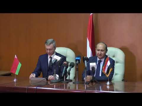 وزيرا تجارة مصر وبيلاروسيا يوقعان البروتوكول الختامي لفعاليات اللجنة المشتركة