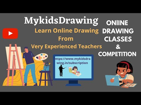 Online Drawing Learning | Online Drawing Classes & Competition  | Kids Drawing class |Learn drawing.