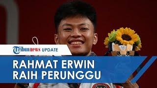Susul Eko Yuli & Windy Cantika, Rahmat Erwin Sumbang Perunggu dari Cabor Angkat Besi Olimpiade 2020