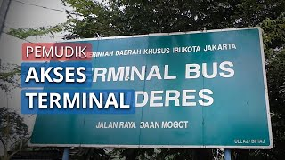 Puluhan Pemudik Akses Terminal Bus Kalideres Pasca Imbauan Jangan Mudik dari Pemerintah