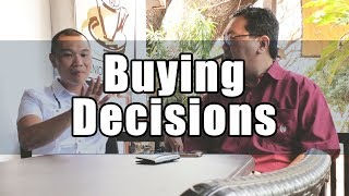 Buying Decisions: Are you a Maximizer or a Satisficer?