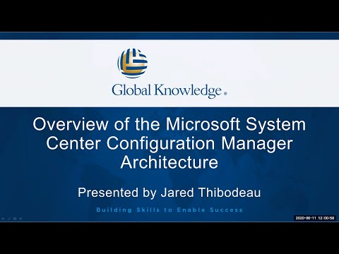 Microsoft System Center Configuration Manager Architecture ...