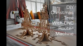 Christmas Idea   Interlocking Tree Stand Made With CNC Router Machine